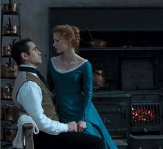 "Colin Farrell and Jessica Chastain in the trailer of the film ""Miss Julie"" About forbidden relationship is social framework"