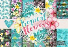 Tropical Flowers dig