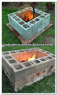 Best Backyard Patio Ideas On A Budget Fire Pits Ideas backyard design diy ideas How To Build A Fire Pit, Diy Fire Pit, Fire Pit Backyard, Backyard Patio, Backyard Landscaping, Backyard Seating, Diy Patio, Outdoor Seating, Fire Pit Bbq