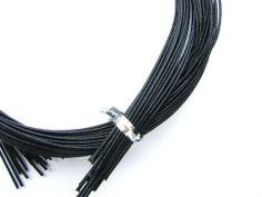 Mizuhiki Japanese Decorative Paper Strings Cords Black