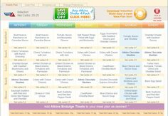 Low Carb Layla: Phase 1, Week 1 Atkins.com Meal Planner