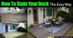 Staining a deck might take a bit of patience and perseverence but the benefits in the long run are plentiful, as it will allow the deck to become more weatherproof and look amazing. It takes a few steps such as cleaning the deck, letting it dry,and then using an extended deck brush with a roller …