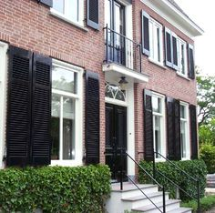 Home Reno, Shutters, Facade, Decoration, Garage Doors, Woodworking, Windows, Country, Outdoor Decor