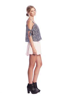Bonny Top $179.00 June Skirt $179.00 www.makeheartsrace.com
