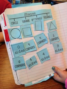 math journal printables, shapes, math journal shapes