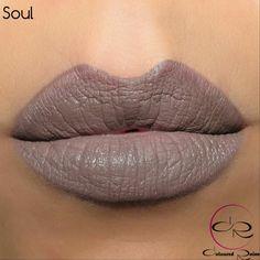 Need this colour so badly. Coloured Raine matte lip cream in Soul.