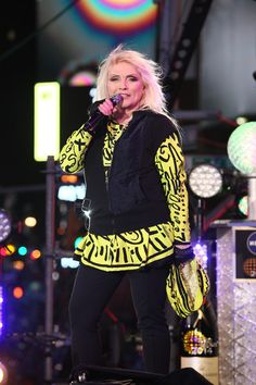 Debbie Harry Photos - New Year's Eve Celebrated in Times Square - Zimbio
