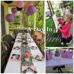 A Day In Paris Party.