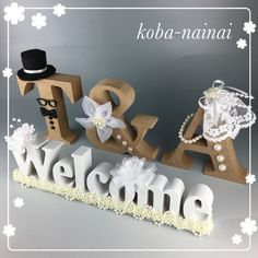 Alphabet Letters Design, Welcome Boards, Desi Humor, Whatsapp Dp Images, Wedding Preparation, Lettering Design, Wedding Decorations, Marriage, Place Card Holders