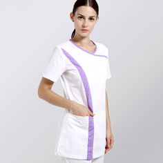In Design; Lower Price with Fashion Print Design V Neck Medical Scrub Sets Hospital Dental Clinic Beauty Salon Workwear Overalls Clothing Nurses Uniforms Novel