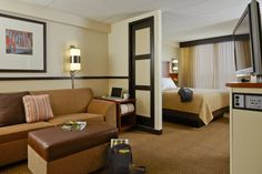 You'll feel welcome in any of our spacious guestrooms at a Hyatt Place location.