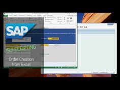 SAP GUI Scripting - Order Creation from Excel automation Script, Script Typeface