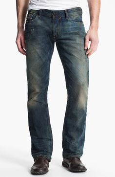 Diesel Mens Larkee 607A Relaxed Jeans Mens Jeans Buy Jeans for Men COLOUR-raw