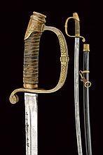 A rare sabre, Ferdinand I (1908-1918) epoch