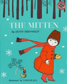 Deep in the woods on the coldest day of winter a little boy drops his mitten. And that lost mitten stretches and stretches -- and stretches -- to provide shelter for many woodland creatures. A Ukraini