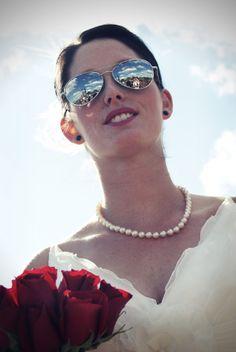 Cool bride!