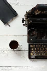 Afbeeldingsresultaat voor coffee typewriter