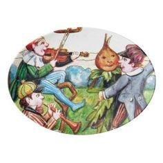 #vintage - #Vintage Halloween party Holiday serving platter
