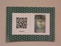 Using QR codes to feature online book trailers