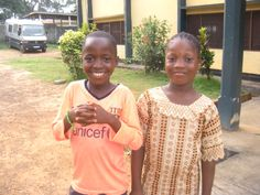 Brother and sister, Mohamed and Isiatu