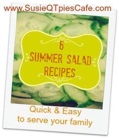 6 Summer Salad Recipes