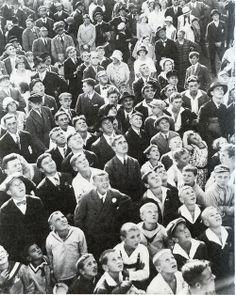 Martin Munkacsi Spectators at a Sports Event 1933 Baltimore Riots, Martin Munkacsi, Most Famous Photographers, Woodstock Music, France Culture, I Am Unique, Gaulle, Photographer Portfolio, Magnum Photos