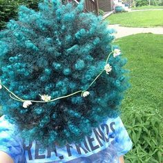 african american, dyed hair, and Afro image