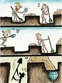 Mantenha o foco naquilo que você busca... não naquilo que os outros conseguem.