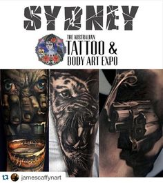 #Repost @jamescaffynart  Hello Sydney! Looking forward to tattooing at the @austattooexpo in March. As of now i have spots available for all day sittings on a large or medium piece. If you're interested please email me at Jimcaffyn@hotmail.com. Tell me about yourself with your idea and placement on the body. Ideally looking to do movie/character portraits #igerssydney #sydney #sydneytattoo #artist #sydneyart #sydneyharbourbridge #sydneytattoobodyartexpo #sydneytattoo #austattooexpo…
