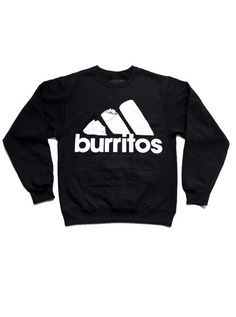 All Day I Dream About Burritos Sweater: http://shop.nylon.com/collections/whats-new/products/all-day-i-dream-about-burritos-sweater #NYLONshop