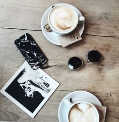 coffee mornings, love the black marble iphone cover