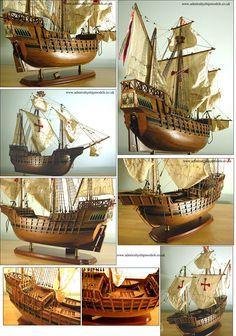 Santa Maria - Admiralty Ship Models Ltd