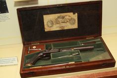 The Teddy Roosevelt Collection: One of a pair of Greene pistols. The second one is lost.