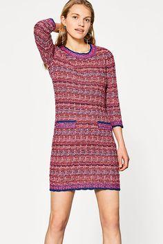 Esprit tweed kleid