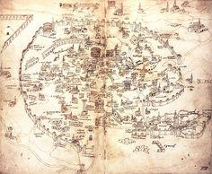 Alessandro Strozzi - Plano de Roma (1474)