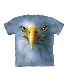 Take a look at this Blue Eagle Face Tee - Toddler & Kids by The Mountain on #zulily today!