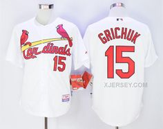 http://www.xjersey.com/cardinals-15-randal-grichuk-white-cool-base-jersey.html Only$40.00 CARDINALS 15 RANDAL GRICHUK WHITE COOL BASE JERSEY #Free #Shipping!