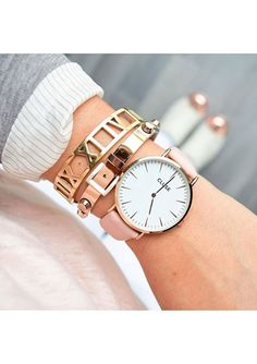 Arm Party Rose Gold Bracelet #ootd #outfit #style #cool #fashion #accessories - 26,90  @happinessboutique.com