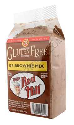 Bob's Red Mill Gluten Free Brownie Mix. Since I had to give up gluten, I feel like Bob is my best friend. Their choc chip cookie mix is exceptional!
