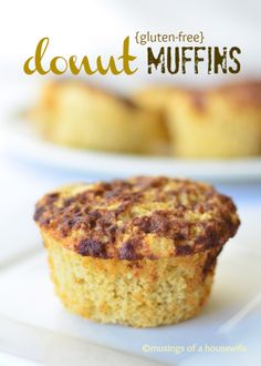 These #donut #muffins will knock your socks off!! (#glutenfree optional)