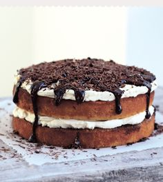 In Miranda Gore Browne's recipe for hazelnut tiramisu cake from Bake Me a Cake as Fast as You Can, the sponges are drizzled with hot coffee and Marsala and then layered with mascarpone cream. Warm chocolate drips temptingly down the sides to create a stunning, indulgent cake that will impress all your friends.