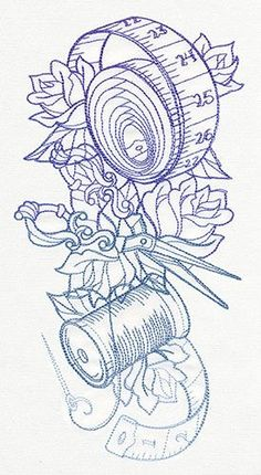 Grand Sewing Embroidery Designs At Home Ideas. Beauteous Finished Sewing Embroidery Designs At Home Ideas. Cross Stitch Embroidery, Hand Embroidery, Machine Embroidery, Embroidery Tattoo, Simple Embroidery, Tattoo Sleeve Designs, Sleeve Tattoos, Quilt Tattoo, Silhouette Cameo 4