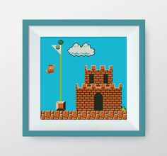 BUY 2, GET 1 FREE! Super Mario Cross Stitch Pattern, Retro Super Mario, Instant Download, P112 by NataliNeedlework on Etsy https://www.etsy.com/listing/237190173/buy-2-get-1-free-super-mario-cross