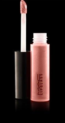 MAC Nymphette - Been wearing this for almost 10 yrs. Great over Ramblin Rose or bombshell lipstick by MAC.