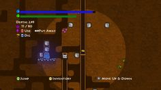 Miner Dig Deep is an addictive mining game for XBox where you dig deep and get killed by rocks / your own stupidity.