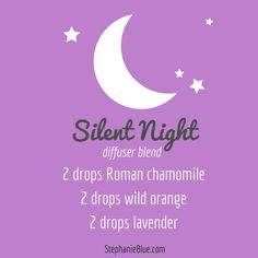 Silent Night. An awesome essential oil diffuser blend. Use your #doTERRA essential oils. Love!