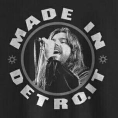 Icon Collection Kid Rock - Black by Made In Detroit Rob Halford, Detroit Michigan, Detroit Tigers, Classic Rock And Roll, Rock Videos, Prince Purple Rain, Bob Seger, Kid Rock, Ozzy Osbourne