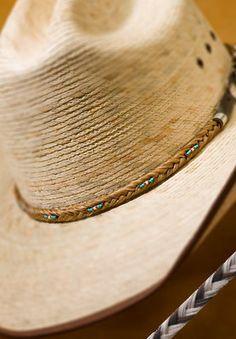 Beautiful Hatband Handmade from Authentic Donated Horse Hair   eBay
