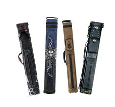 CUE CASES at Billiard And Pool Center    - To Protect and Carry your Pool Cues, Billiard & Pool Center Offers a Large Collection of Cue Cases for Every Budget at the Lowest Prices Allowed by Manufacturers. Along with searching by Brands, you can browse by the following Categories of Cases: - Sizes (1x1, 1x2, 2x2, 2x3, 2x4, 3x4, 3x5, 3x6, 3x7, 4x8, 12x24) - Types (Soft, Hard, Box) - Materials (Leather, Vinyl, Other)