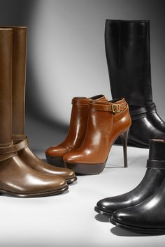 Gorgeous burberry boots.